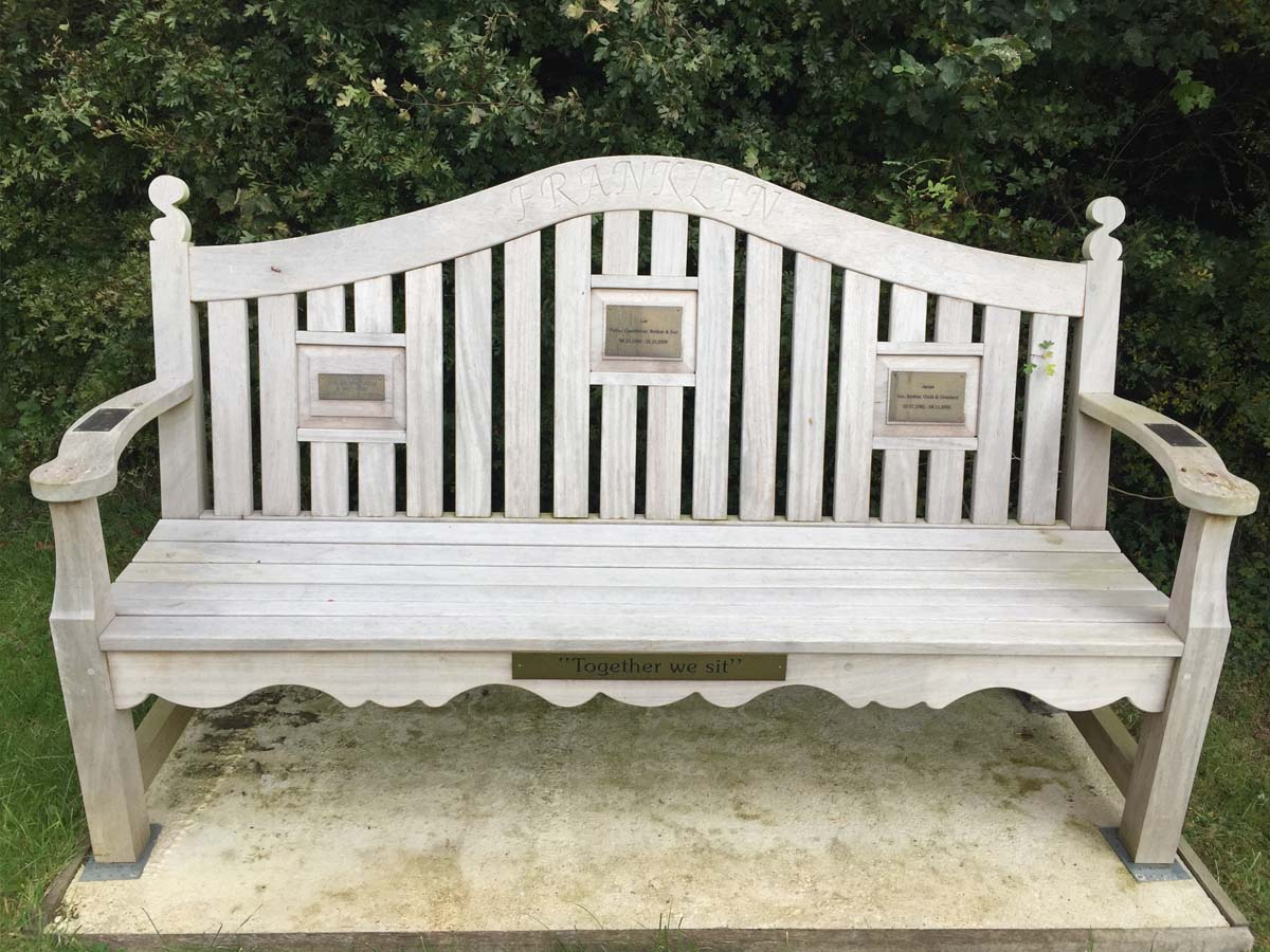 Franklin Memorial Bench