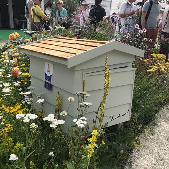 bespoke handmade bee hive