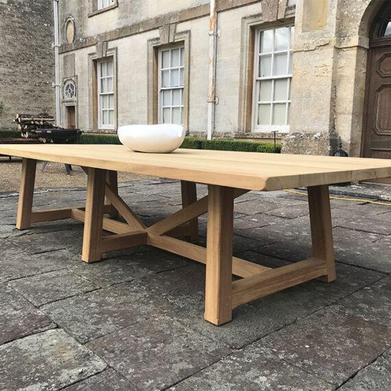 bespoke handmade hardwood table