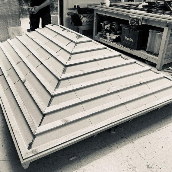 bespoke hardwood cedar roof