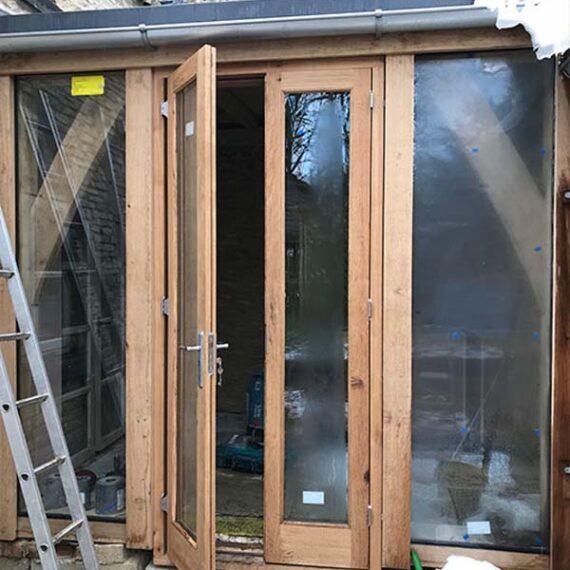 bespoke hardwood doorframes