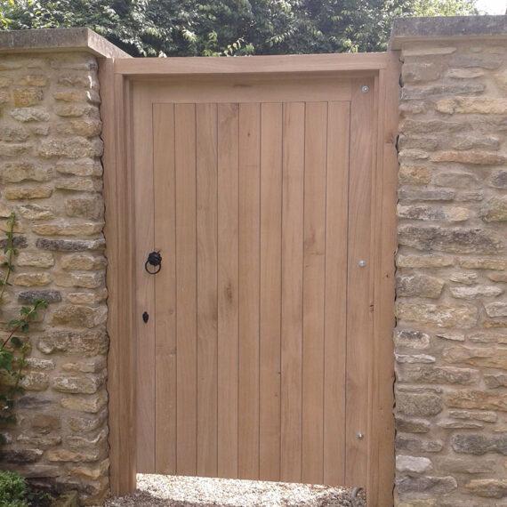 bespoke hardwood garden gate