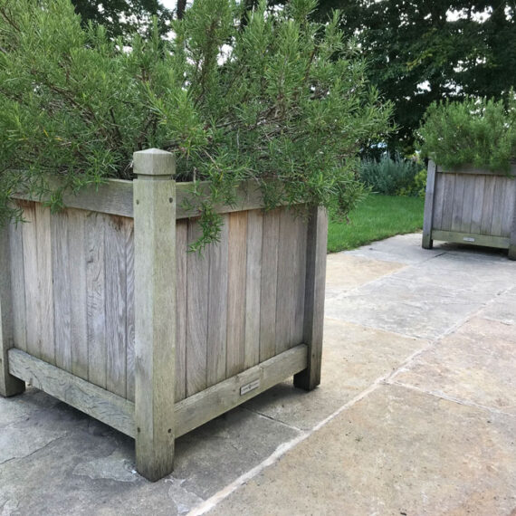 bespoke oak mansfield planters