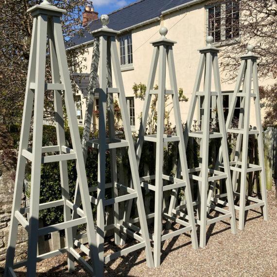 bespoke oxford obelisks in accoya