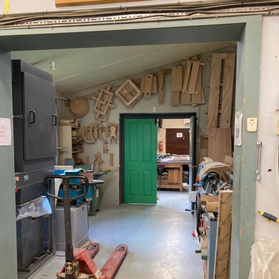 inside the workshop