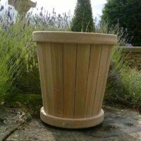 oak oriel planter ready for planting