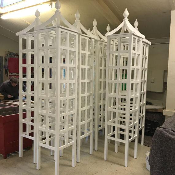 oversized bespoke cotswold obelisks
