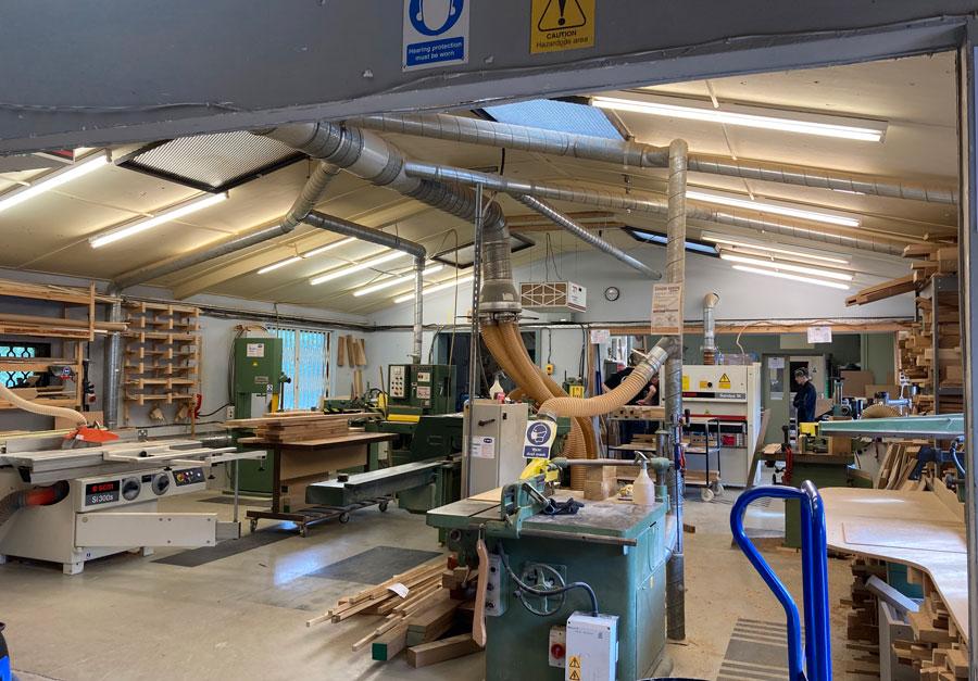 oxford planters workshop interior updated