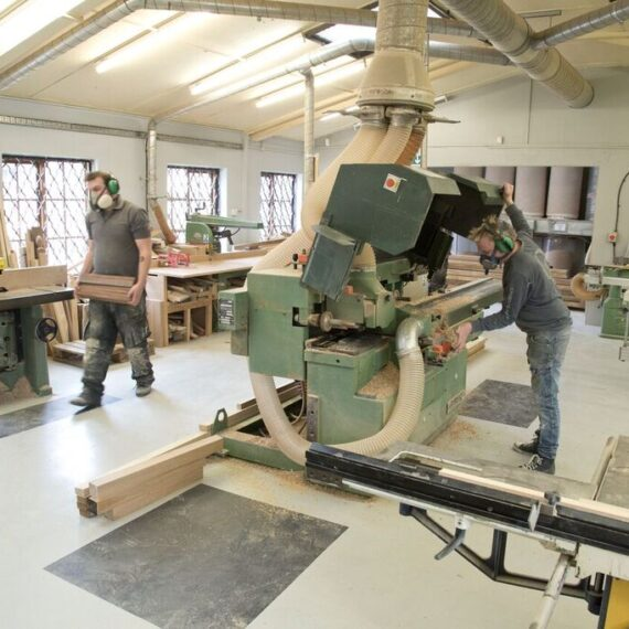 view of the workshop