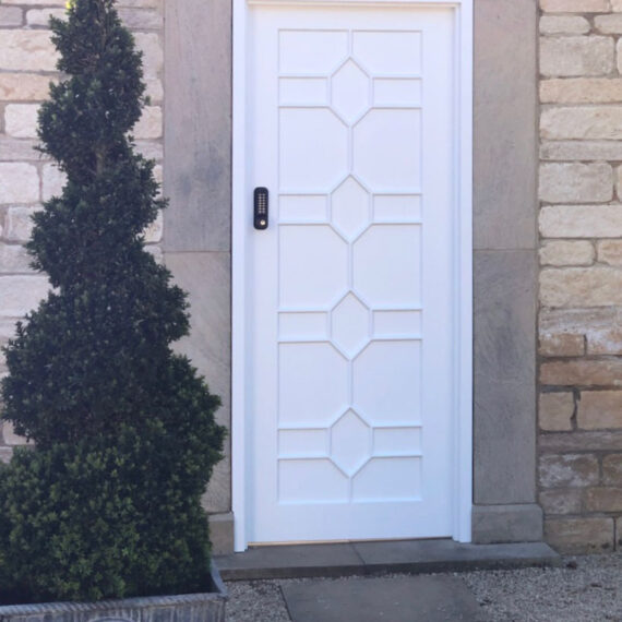 bespoke gate with stunning detail