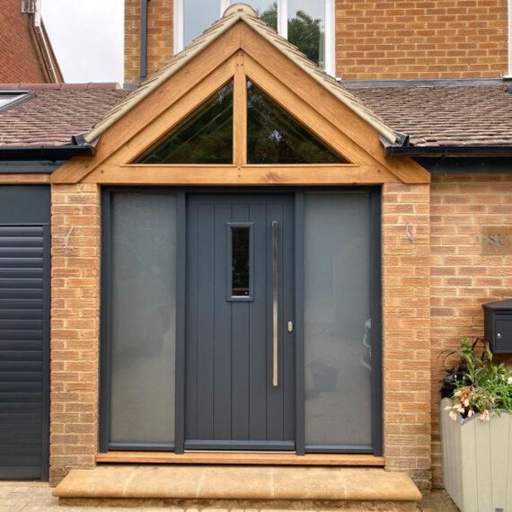 fully insulated accoya door