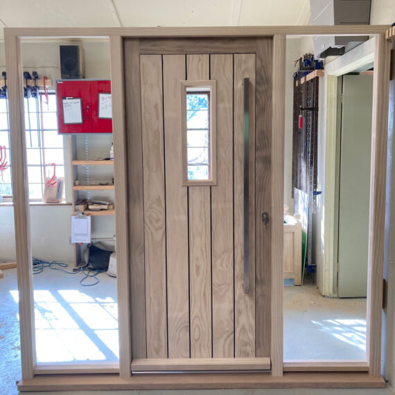fully insulated security door