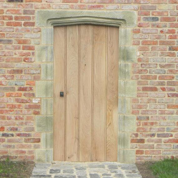 oak gate front